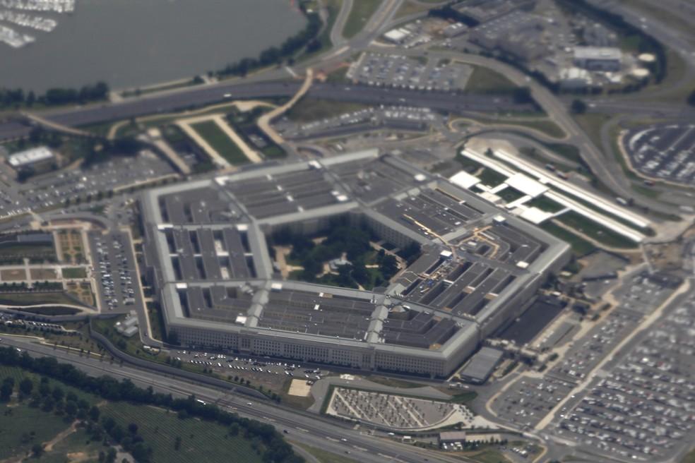 Vista aérea do Pentágono, nos EUA, de 3 de junho de 2011 — Foto: Charles Dharapak/Arquivo/AP Photo