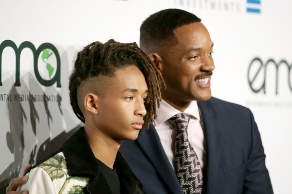 Jaden Smith e Will Smith (Foto: Getty Images)