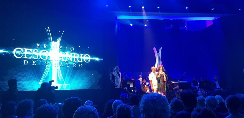 Quitéria Kelly, diretora do espetáculo 'A Invenção do Nordeste', recebeu o prêmio Cesgranrio de Teatro — Foto: Pit Hertig/Cedida