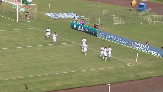 Confira o gol da vitória do Londrina sobre o Foz do Iguaçu