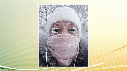 Aulas são suspensas após temperaturas chegarem a - 67º C em região da Rússia