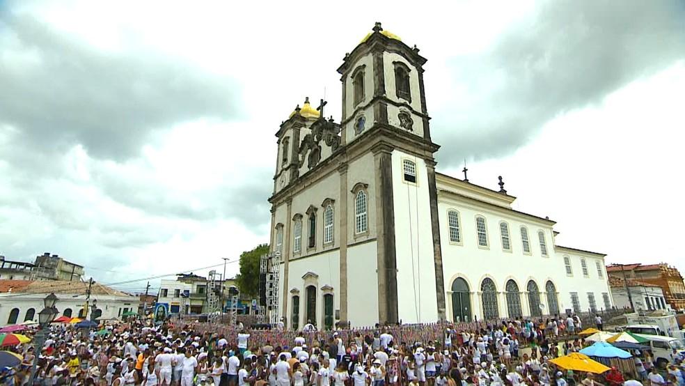 Igreja do Bonfim (Foto: Reprodução/TV Bahia)