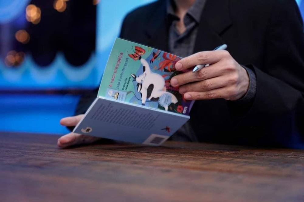 Dia do Livro Infantil: escritor premiado fala sobre literatura no interior de SP — Foto: João Paulo Hergesel/Arquivo Pessoal