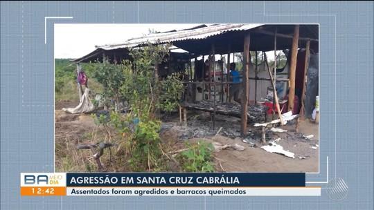 Grupo é agredido e barracos são incendiados em ataque a assentamento na Bahia