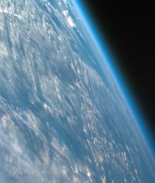 Terra vista de cima: por que a atmosfera é um bem valioso do nosso planeta