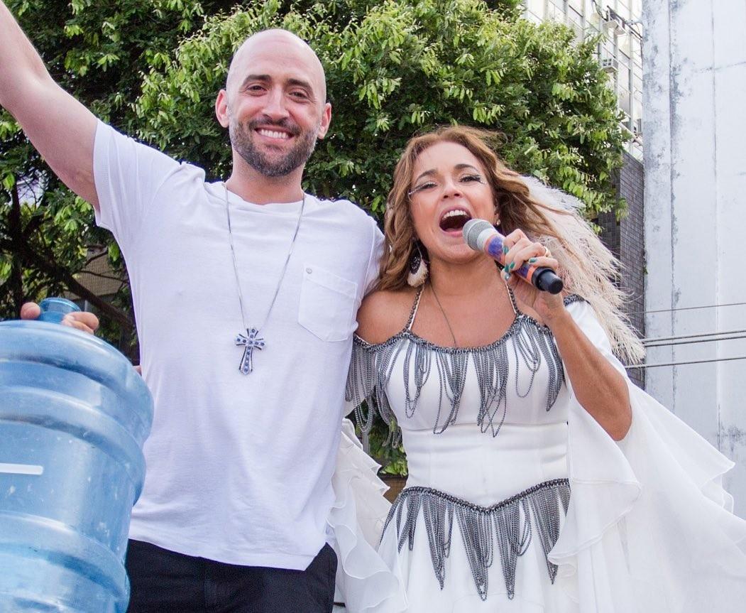 Paulo Gustavo e Daniela Mercury (Foto: Reprodução/Instagram)