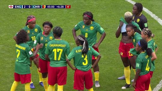 Atitudes das jogadoras de Camarões na derrota para a Inglaterra vão ser investigadas