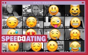 Tive 8 encontros às cegas pelo Zoom na quarentena; Conheça o Speed Dating