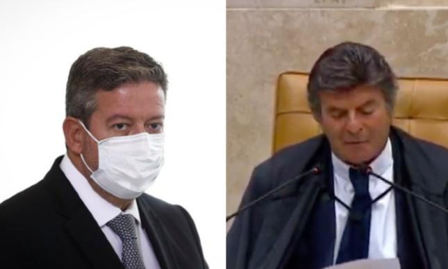 Arthur Lira e Luiz Fux
