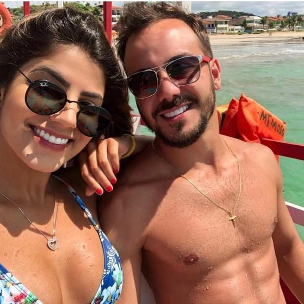 Hariany Almeida e Paulo Henrique (Foto: Reprodução/Instagram)