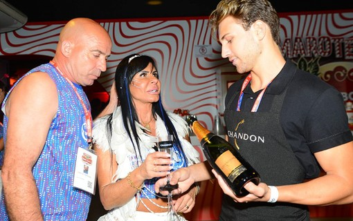 Chandon é servido no meeting point