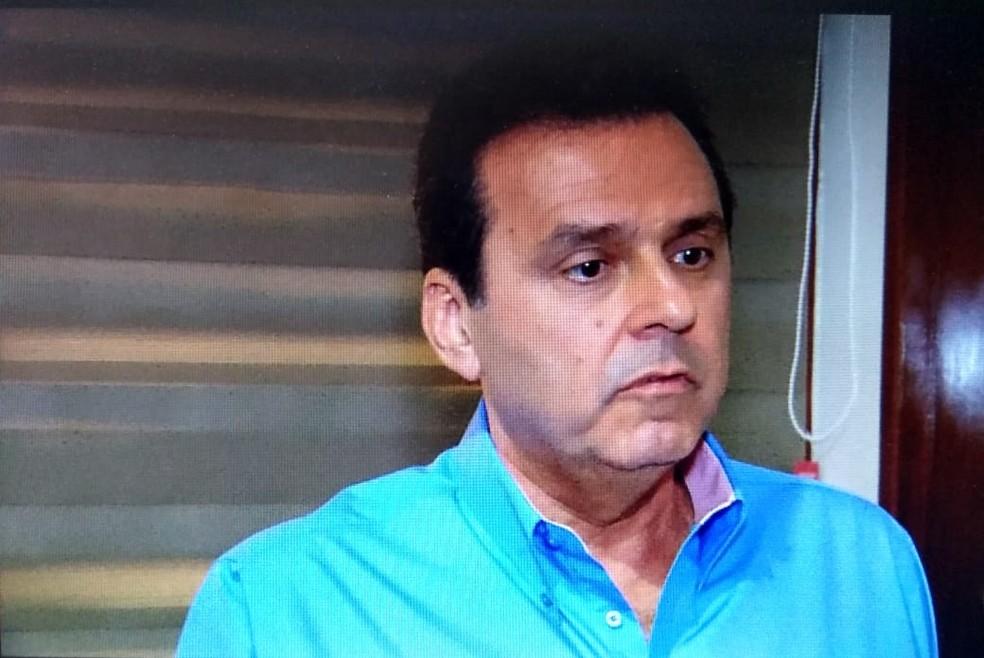 Carlos Eduardo diz que é o governador que tem que comandar processo de recuperação da segurança pública (Foto: Reprodução/Inter TV Cabugi)