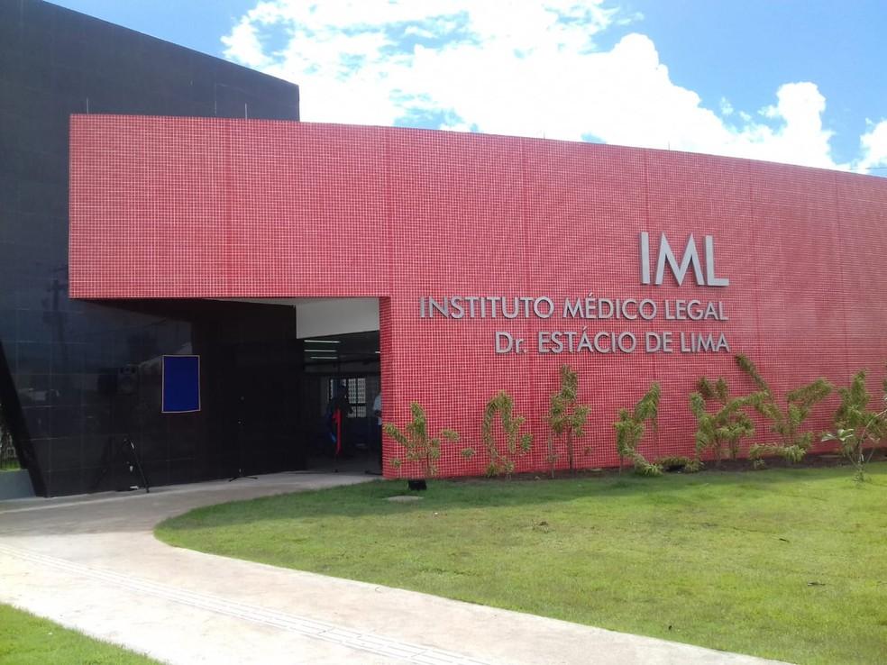 Nova sede do IML é inaugurada nesta segunda-feira (18) no Tabuleiro dos Martins, em Maceió (Foto: Andréa Resende/G1)