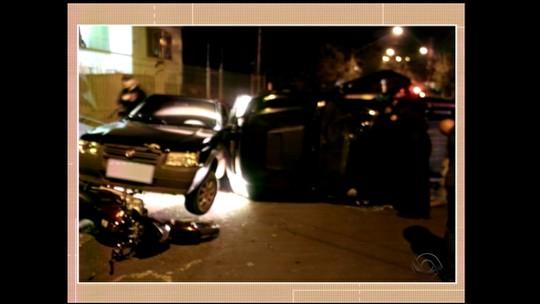 Acidente de trânsito envolve sete carros em Santo Ângelo