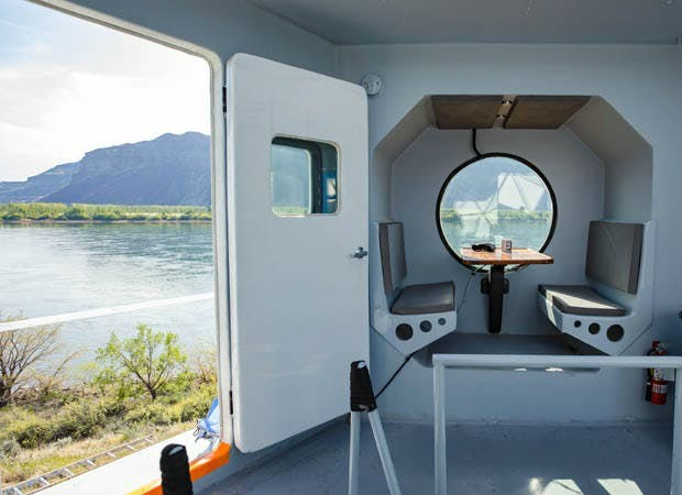 Tiny house é inspirada na nave espacial Apollo 11 (Foto: Divulgação / Zillow)