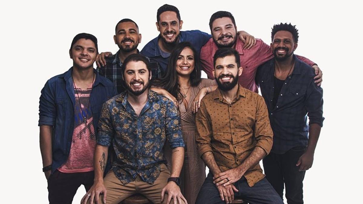 Os Gonzagas anunciam nova formação com Zé Neto e Kamila Justino nos vocais