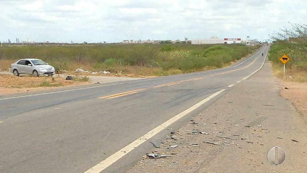 PRF registrou 22 acidentes e seis mortes no RN durante o feriadão (Foto: Reprodução/Inter TV Cabugi)