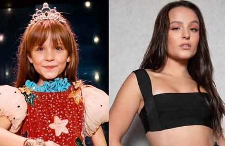 Larissa Manoela apareceu quando criança no filme 'O palhação', de Selton Mello. Ela se tornou um sucesso entre o público jovem e, em 2022, estreará na Globo como protagonista de 'Além da ilusão' Reprodução