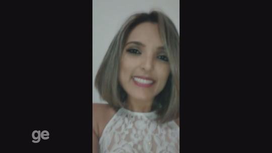Pâmela Bruna, candidata a musa dos Gladiadores, envia recado em vídeo