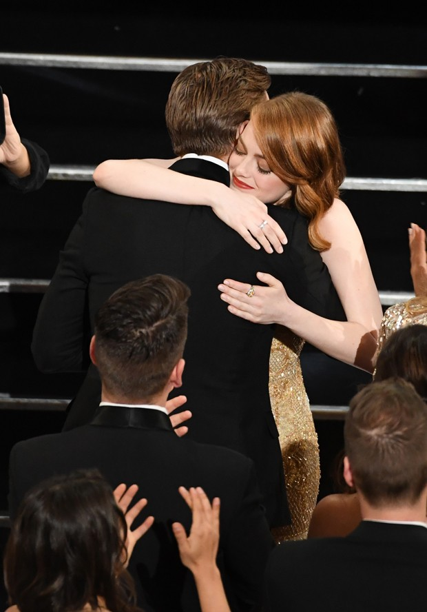 Emma Stone e Ryan Gosling (Foto: Getty Images)