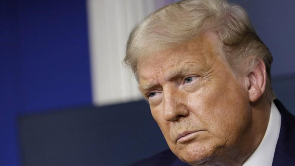 Donald Trump quer indicar uma mulher para ocupar a vaga na Suprema Corte — Foto: EPA/BBC