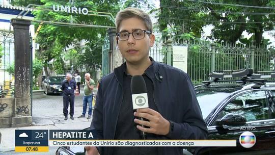 Após chuvas, Unirio tem cinco casos confirmados de Hepatite A entre seus alunos