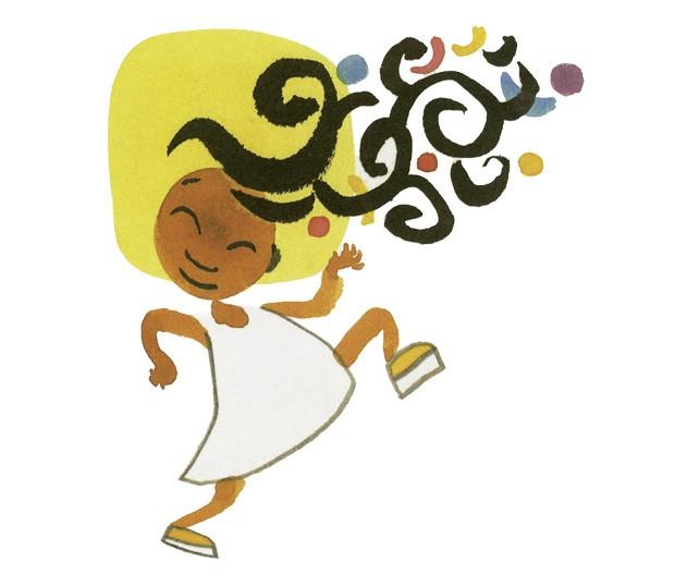 Meu Crespo é de Rainha, texto de bell hooks e ilustrações de Chris Raschka, Boitatá, R$ 35. A partir de 3 anos. (Foto: Reprodução)