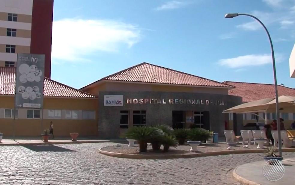 Hospital Regional de Juazeiro (Foto: Reprodução/TV São Francisco)