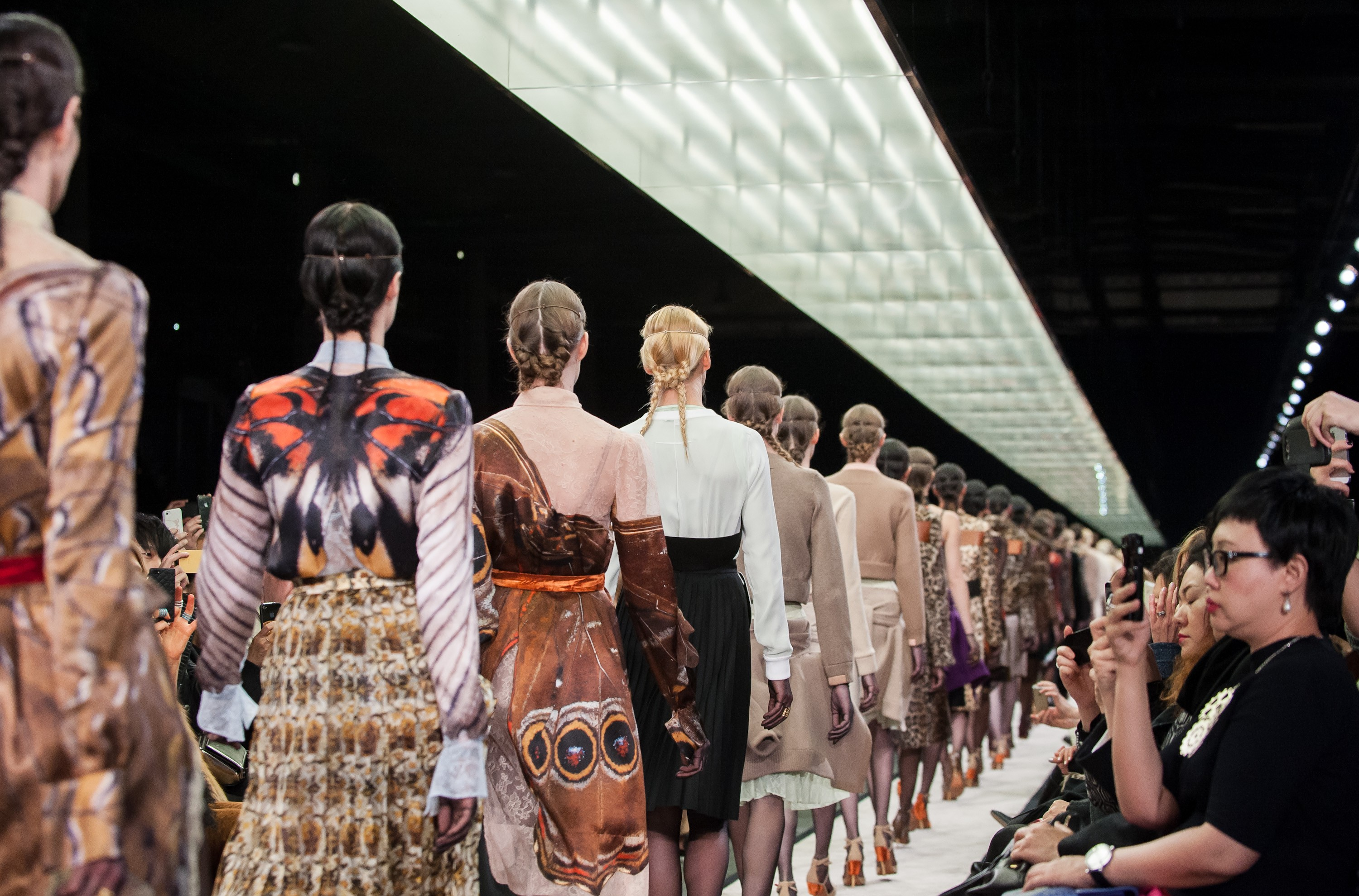 A fila final do inverno 2015 da Givenchy (Foto: Getty Images)