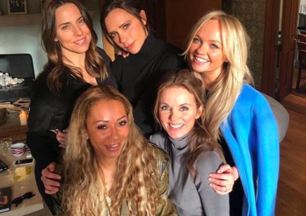 A volta das Spice Girls foi incensada após encontro das cinco integrantes (Foto: Reprodução/Instagram)