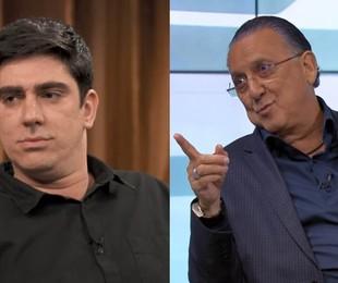 Marcelo Adnet e Galvão Bueno   Reprodução