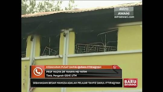 Incêndio em escola religiosa mata 25 pessoas na Malásia