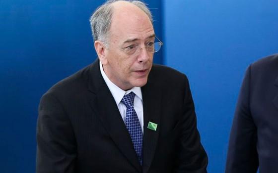 Pedro Parente toma posse como presidente da Petrobras (Foto: Marcelo Camargo/Agência Brasil)