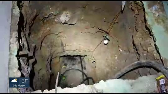 Polícia prende três homes por furto de combustível em um duto da Transpetro