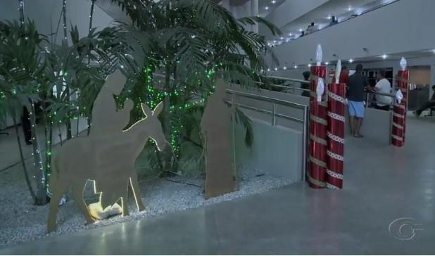 Decorações de Natal tomam conta de empresas e repartições públicas em Maceió e região metropolitana - Noticias