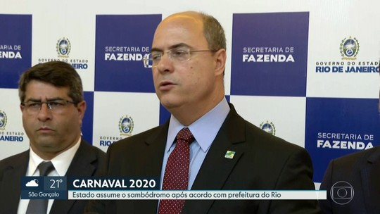 Governo do RJ vai assumir o Sambódromo já no carnaval de 2020