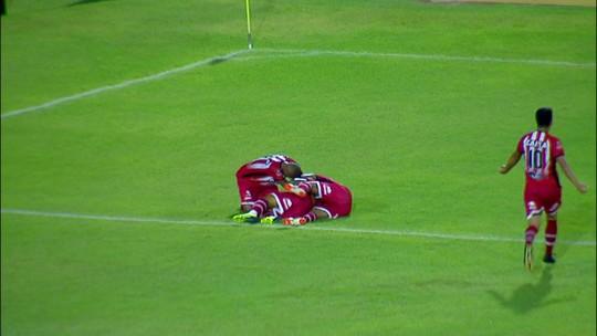 Ataque do CRB sofre para fazer gol, mas Mazola entra no time e ganha crédito com Fernandes