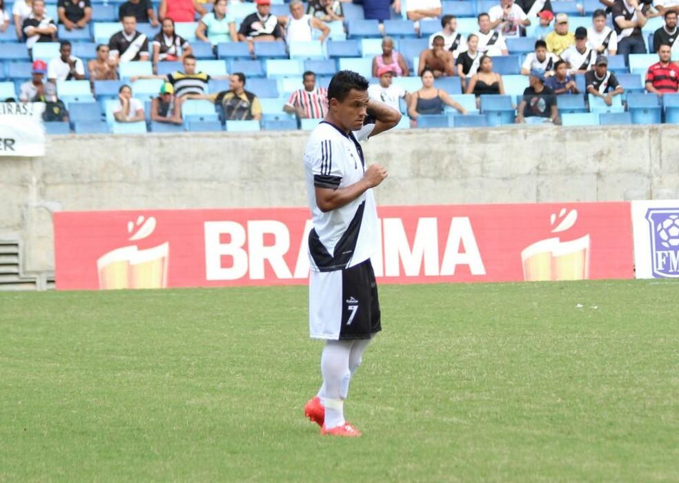 Vinícius Paulista, volante atuou pelo Mixto em 2016 (Foto: Olímpio Vasconcelos)