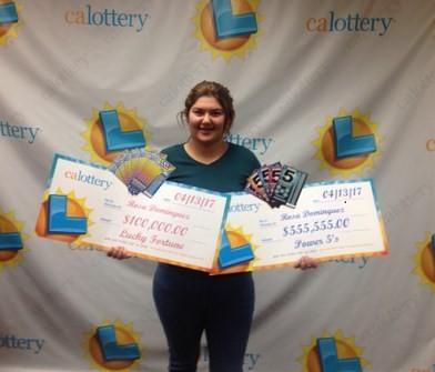 Rosa Dominguez ganhou duas vezes em loteria americana em menos de uma semana