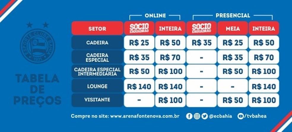 c15a52a466 Bahia x Jacobina  ingressos para a partida de domingo estão à venda ...