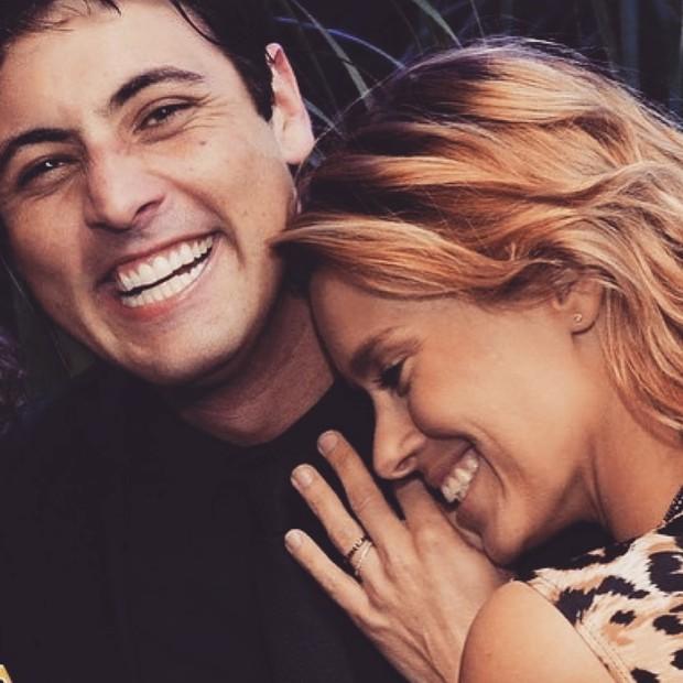 Bruno de Luca e Carolina Dieckmann (Foto: Reprodução/Instagram)