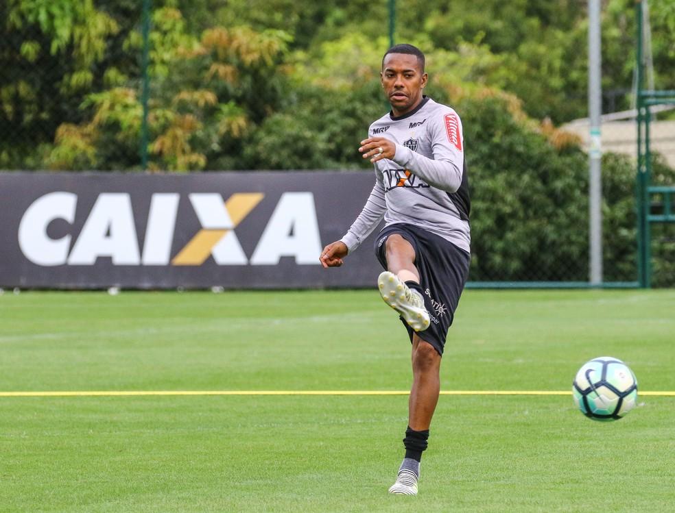 Robinho pode voltar ao Santos em 2018 (Foto: Bruno Cantini / Flickr do Atlético-MG)