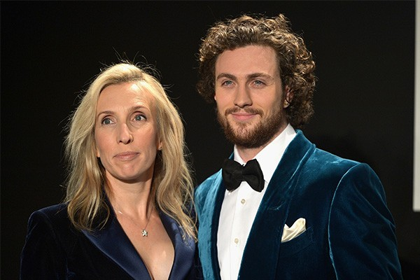 Sam e Aaron Taylor-Johnson (Foto: Getty Images)