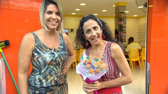 Presente pitoresco: Maria Menezes experimenta um buquê de coxinhas em São Marcos