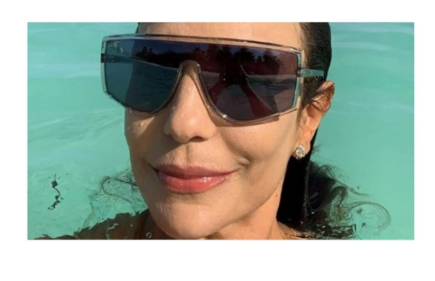 Ivete Sangalo foi às Maldivas um julho de 2019 e ficou hospedada num hotel de luxo (Foto: Reprodução)