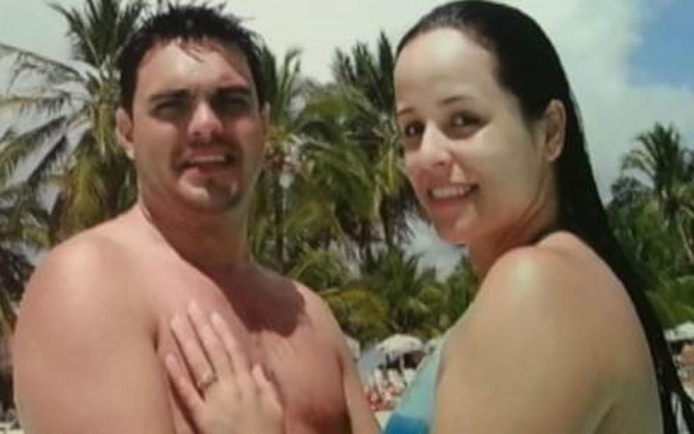 Sérgio Fernandes foi morto com um tiro na nuca por Andressa Araújo. MP a acusa de premeditação; ela alega que agiu em legítima defesa  — Foto: Reprodução/Arquivo pessoal