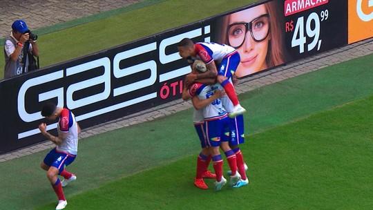 Afiados e em sintonia, Artur e Gilberto retomam parceria diante o Goiás, na Fonte Nova
