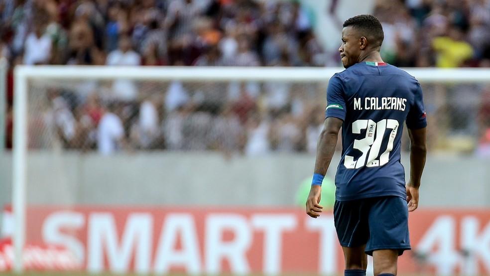 Marquinhos Calazans, atacante do Fluminense — Foto: Lucas Merçon