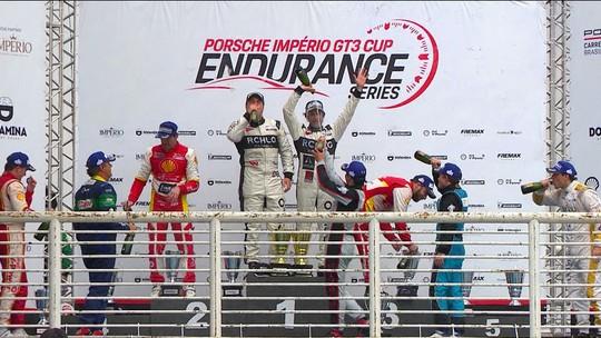 Confira a festa do pódio da Porsche Cup 4.0