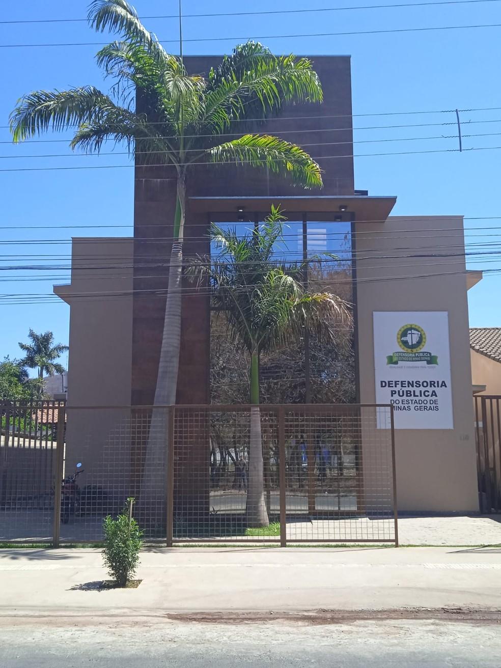 Defensoria Pública em Montes Claros — Foto: DPMG